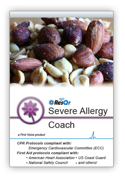 Severe Allergy Coach load screen