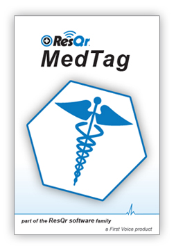 ResQr MedTag load screen